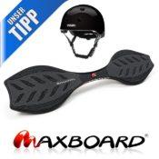 Produktfoto - das Maxboard Waveboard im black-Design