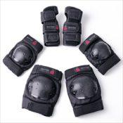 BAYTTER® Protectorenset - 2x Ellenbogenprotekor, 2x Handgelenkprotektor und 2x Knieprotektor