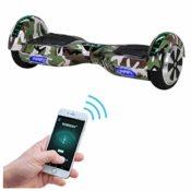Produktbild - das Robway Self Balance Board kann mit dem Smartphone gesteuert werden